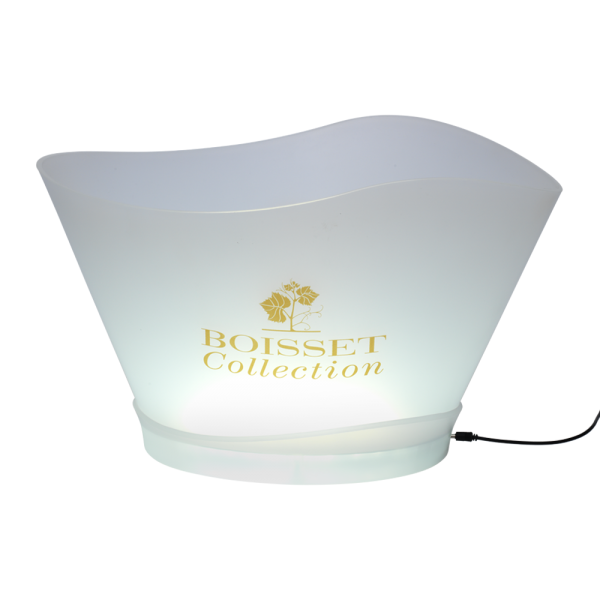 LED Ice bucket white large