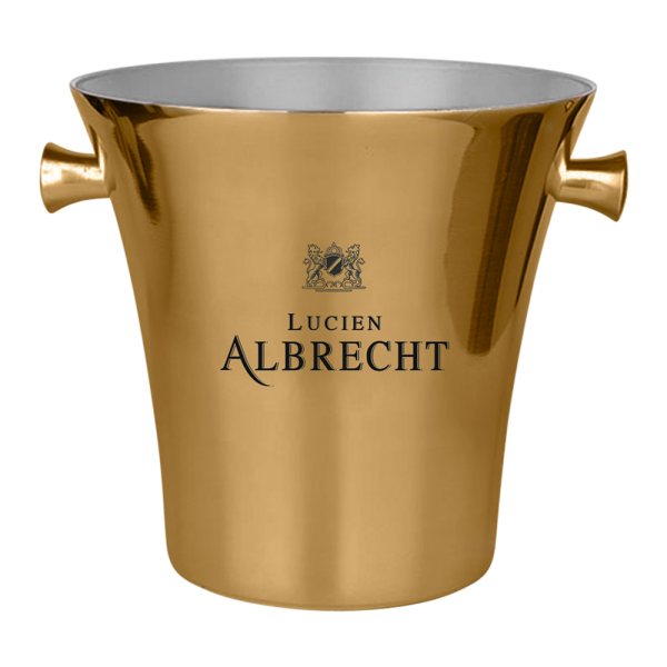 Elegant Metal Ice Bucket
