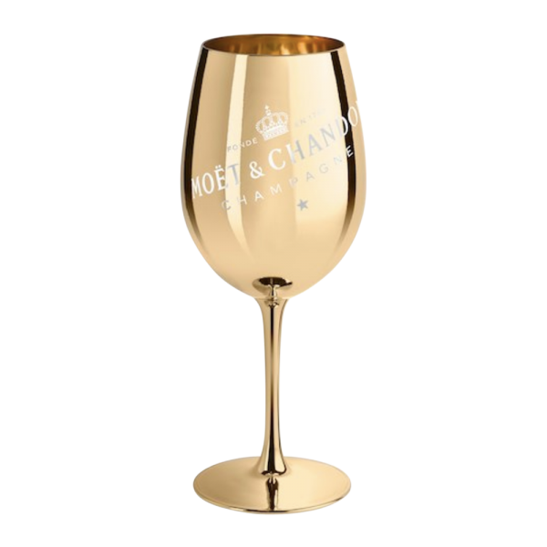 Metallic Wine Glass