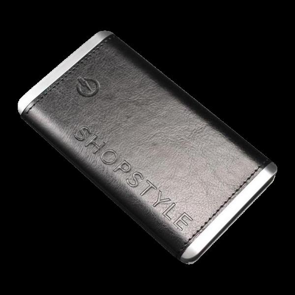 Powerbank leather