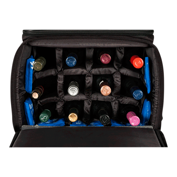 12 Bottle Roller Bag