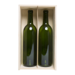 Wood Wine Boxes 2 bottle