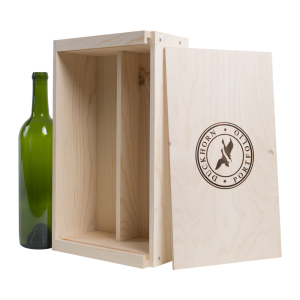 Wood Wine Boxes 2 bottle