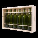 Wood Wine Boxes 6x1