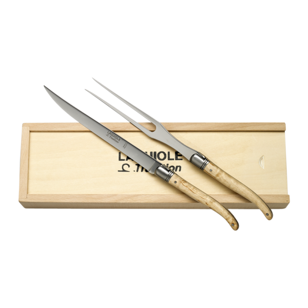 Carving Knife & Fork Set