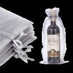 organza wine bag