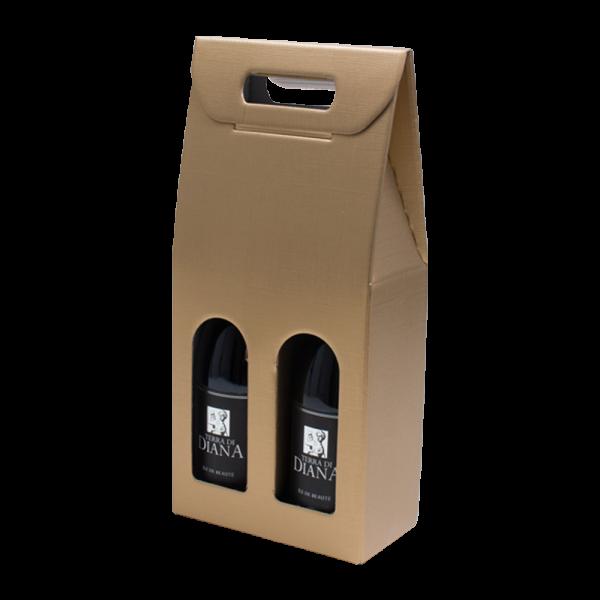 2 bottle wine carrier
