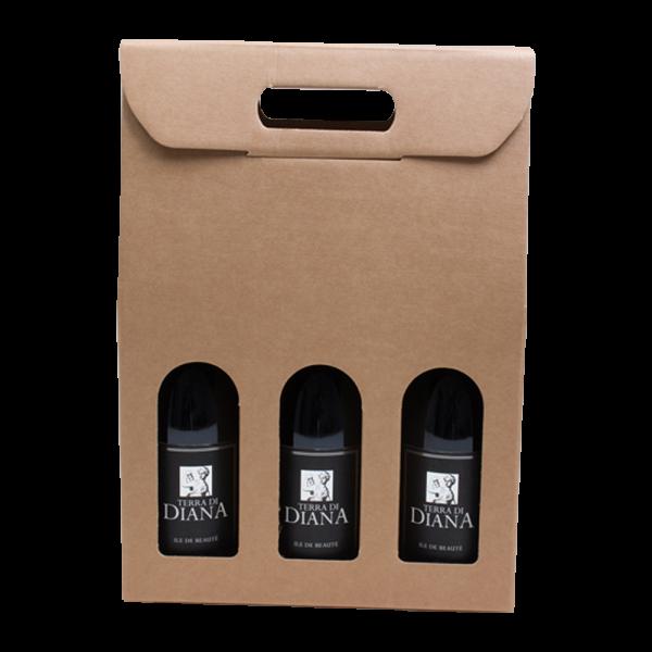 3 bottle wine carrier