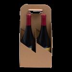 4 bottle wine carrier