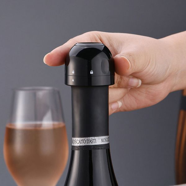 Vacuum Champagne Stopper.