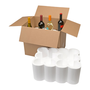 12-Bottle Styrofoam Wine Shipper