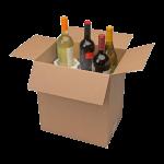 6-Bottle Styrofoam Wine Shipper