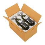 4 Wine bottle pack
