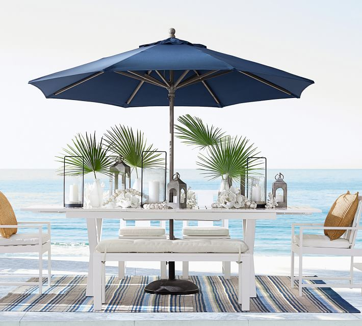 Round Outdoor Patio Umbrella