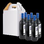 6 bottle wine tote