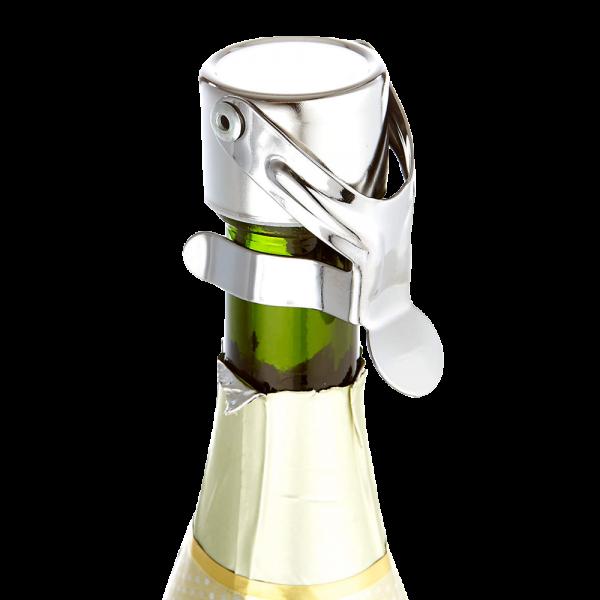 Stainless Steel Italian Champagne Stopper