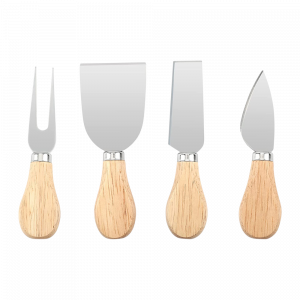 Wooden Cheese Knife Set